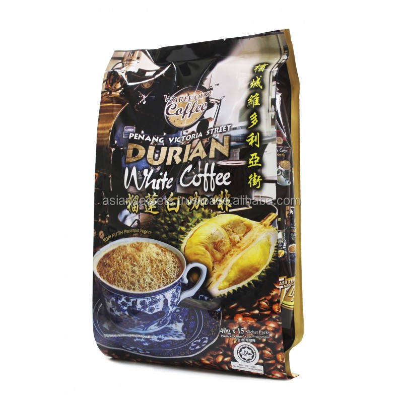 WC Penang Victoria Street Durian White Coffee (15X40 Gram)