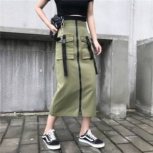 Women fashion long cargo skirts plus size tulle skirts women long