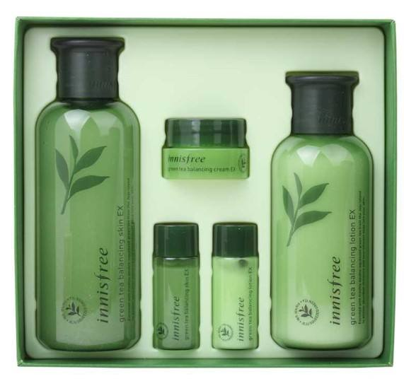 [INNISFREE] Green Tea Balancing Skin Care Set - Korean cosmetics face care korean distributor