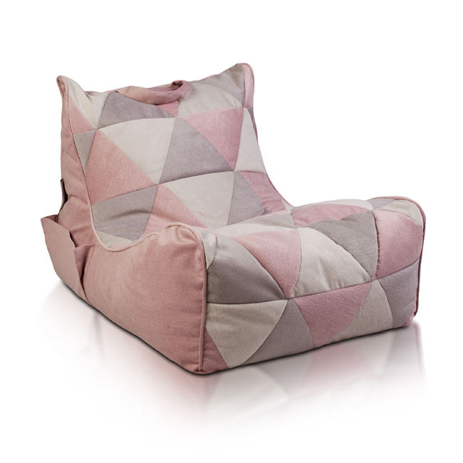 Hot Selling Storage Chair Bean Bag with Comfortable Leg Positioning