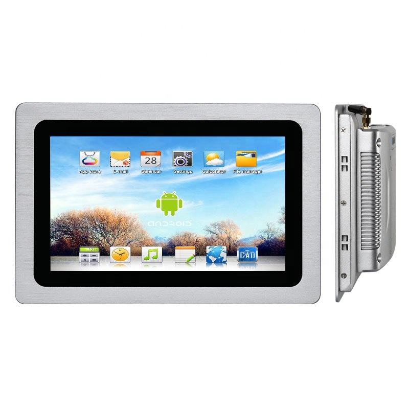 IP65 Industrial 10.1 inch mini pc Android 6.0/5.1/7.1 OS touch screen all in one pc