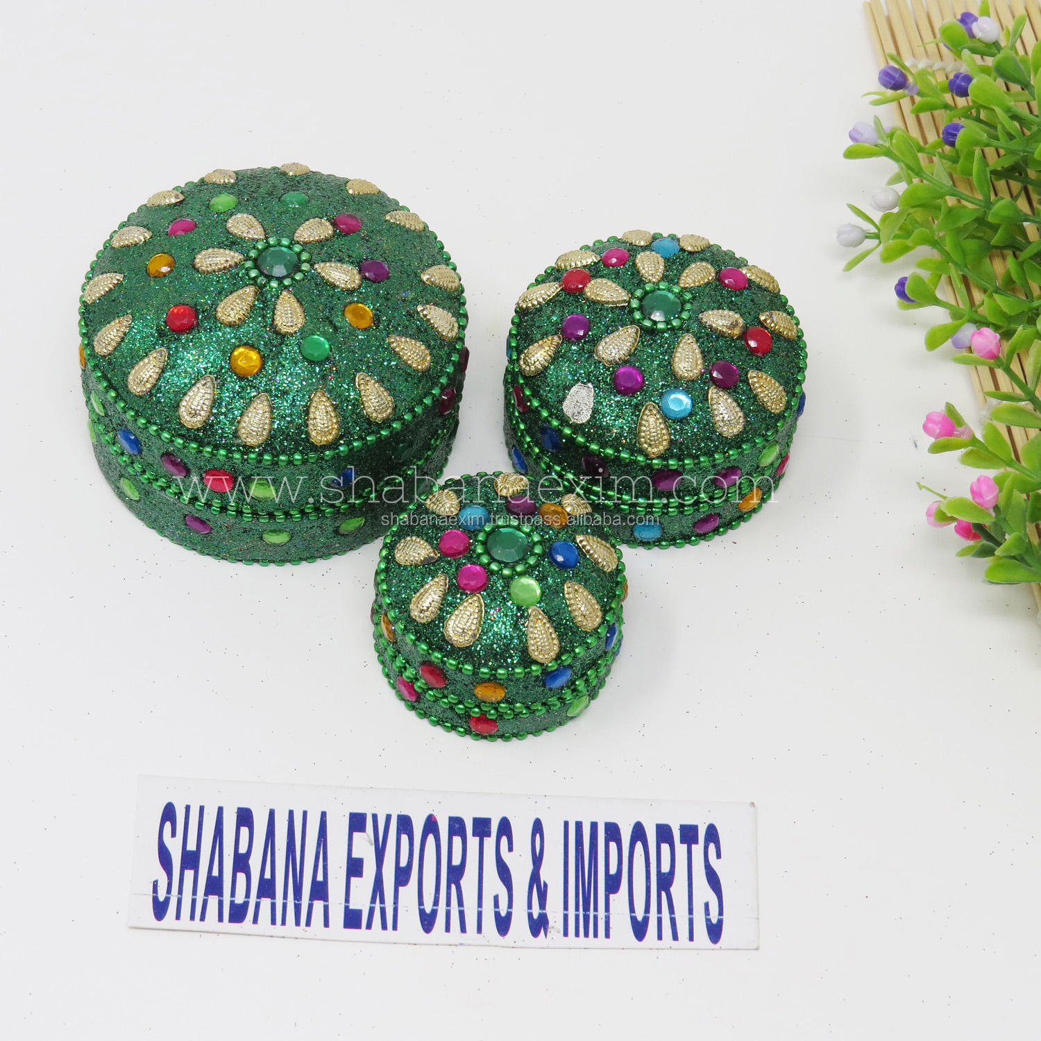 Multicolor Trinket Boxes Attractive Ring Jewelry Box