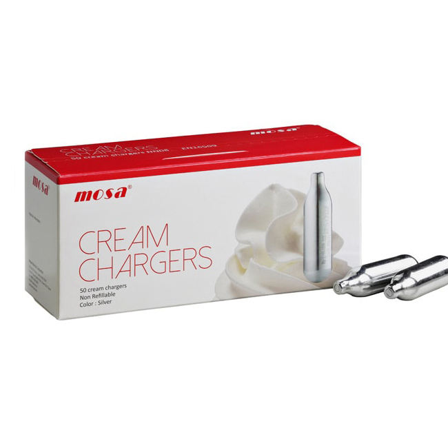 Best Selling Mosa 8g Nitrous Oxide N2O Cream Chargers