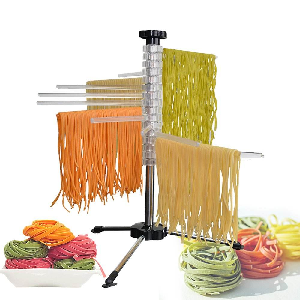 Easily Dries All Long Noodles Steel and Polycarbonate Noodle Dryer of Fresh Pasta Drying Rack