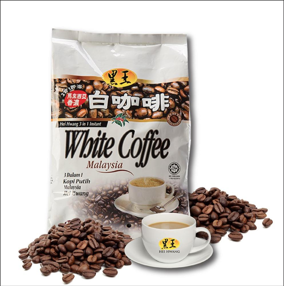 High Quality Hei Hwang Instant White Coffee 3 in 1 (600G)