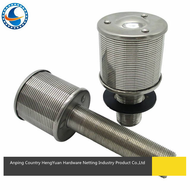 High quality stainless steel filter tube strainer element screen nozzle