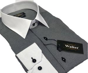 White collar slimfit cotton high quality ISTANBUL men's shirt