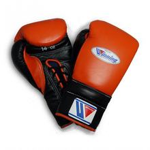 Custom Logo Genuine Premium Quality Cowhide Leather Winning Lace-up Professional Boxing Gloves JSW-BG-2050
