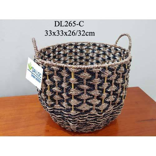 wicker for flowers vietnam wholesale home storage houseware wholesale wicker picnic basket seagrass storage baskets
