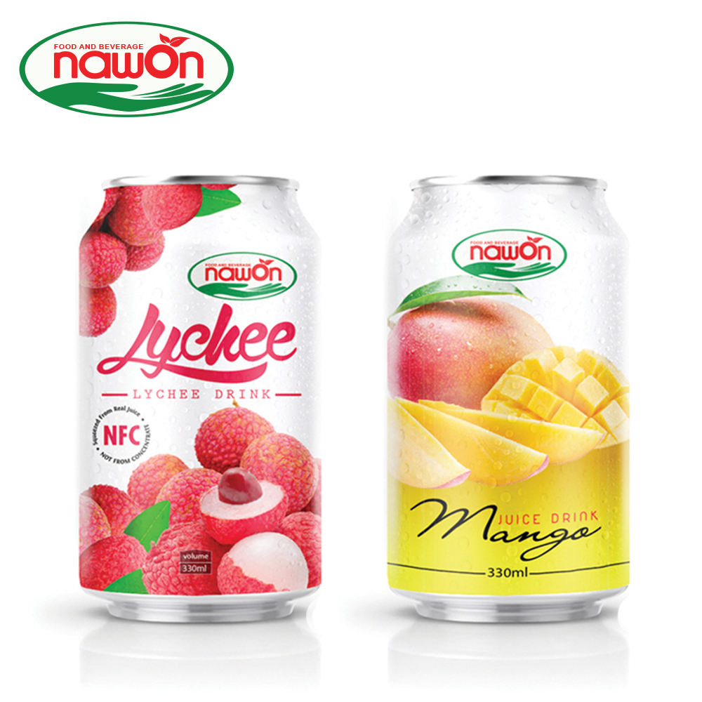 330ml NAWON Canned High quality Original Mango Juice Powder Boosts the Immune System Supplier