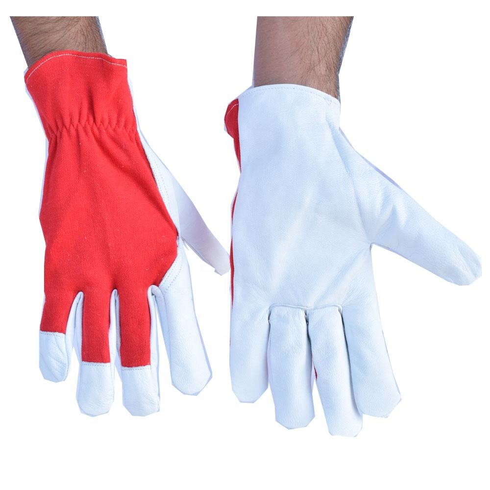 Premium Lined MIG / TIG Welding Gloves Assembly Gloves Breathable Fabric Assembly Gloves
