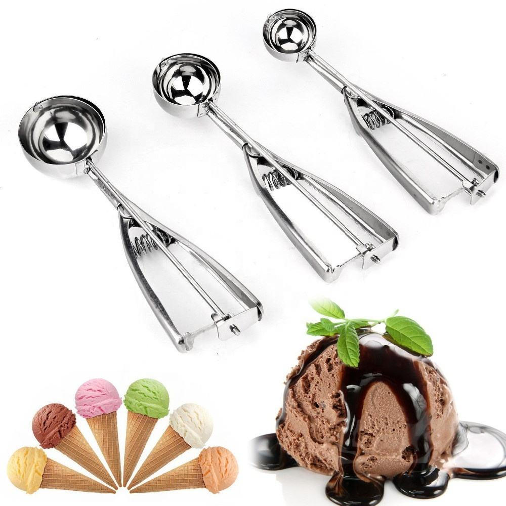 Hot Koop Amazon Keuken Grote Medium Klein Formaat Rvs Polijsten Ijs Scoop Set Cookie Scoop Set