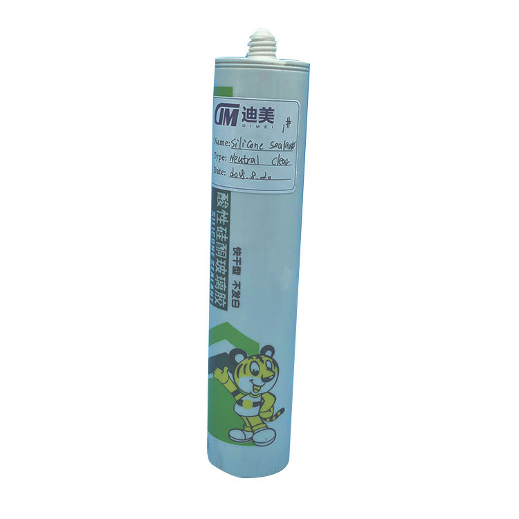 DiMei Factory Waterproof Clear Structural Quick Drying Silicone Sealant