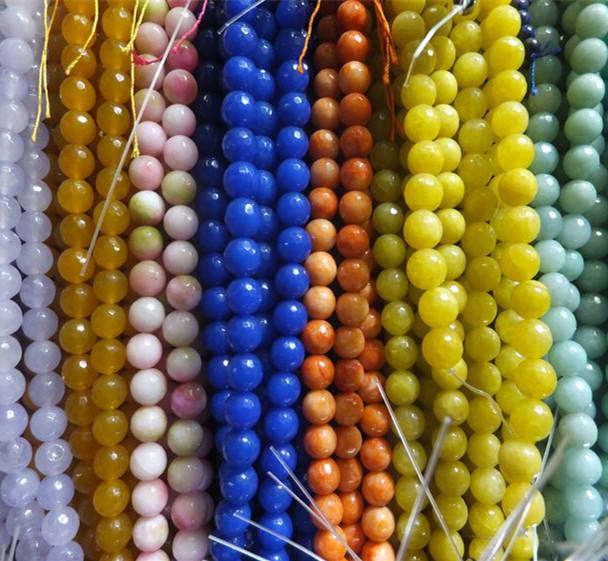 2020 Hot Sales Natural Gemstone Beads-loose Beads-Mala Beads For Jewelry Making