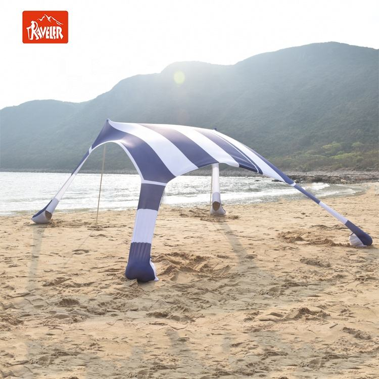 Lycra Fabric Shade Tent/ Beach Shade/ Sun Shade, New Design Outdoor Camping Beach Tent Sun Shelter