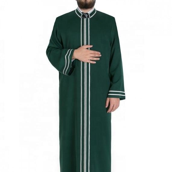 Long line men's Arab style clothing with inside pocket