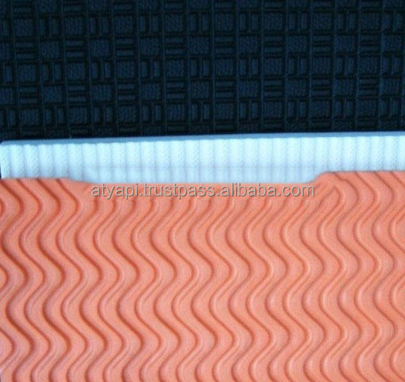weave pattern eva sole material/eva foam insole sheet/eva foam sheet