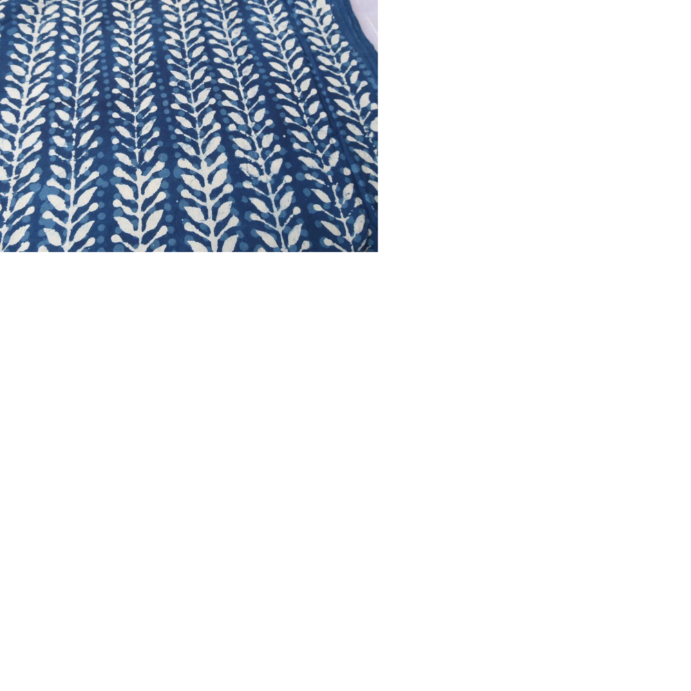 cotton block printed textiles available in a huge variety of patterns