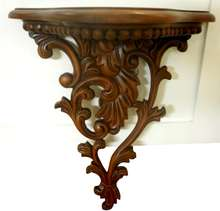 Mahogany Furniture Indonesia - Classic Wall Corbel Rack mahogany furniture