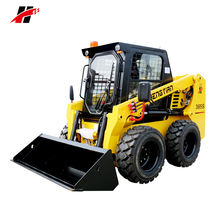 China skid steer loader manufacturer, high strong power skid steer loader in China