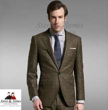 Custom Made 100% Wool Fashionable Men Sport Coat and Blazer