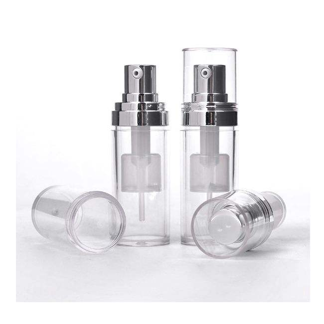 Fine Quality Transparent Plastic Powder Spray Bottle for Cosmetic