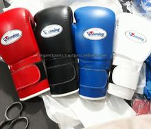 New Style Winning Boxing Gloves 10oz 12oz 14oz or 16oz any color professional kick boxing fighting winning gloves