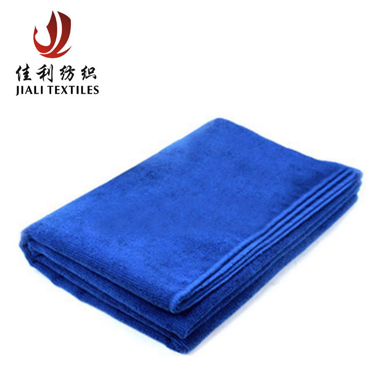 Wholesale hot sale disposable blue car cleaning microfiber towel dish cloth