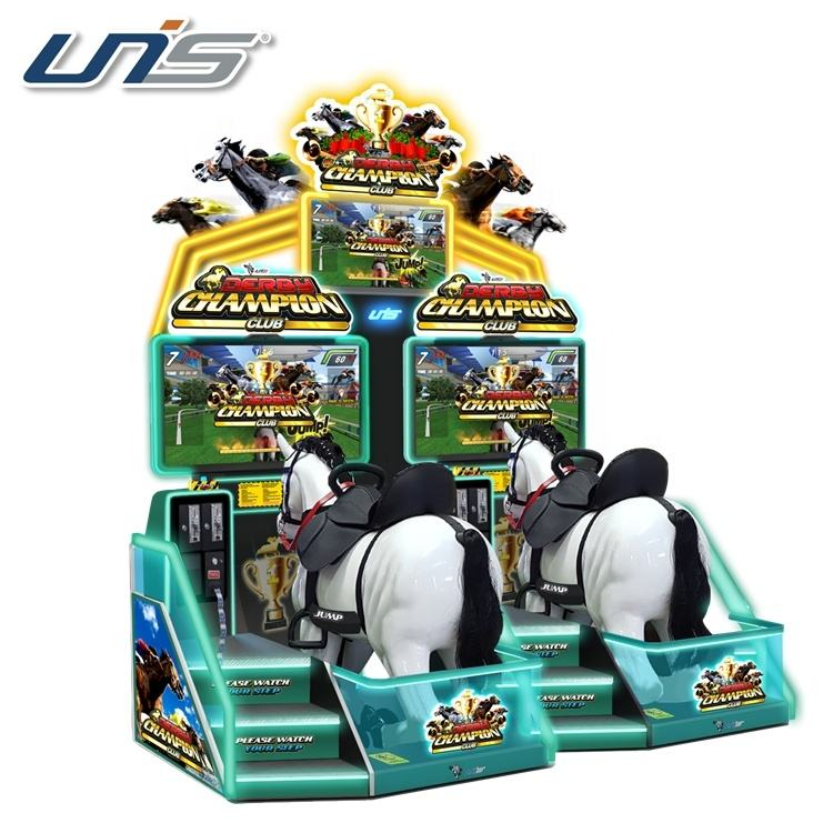 Derby Champion Club 2P coin operated amusement game and redemption machine