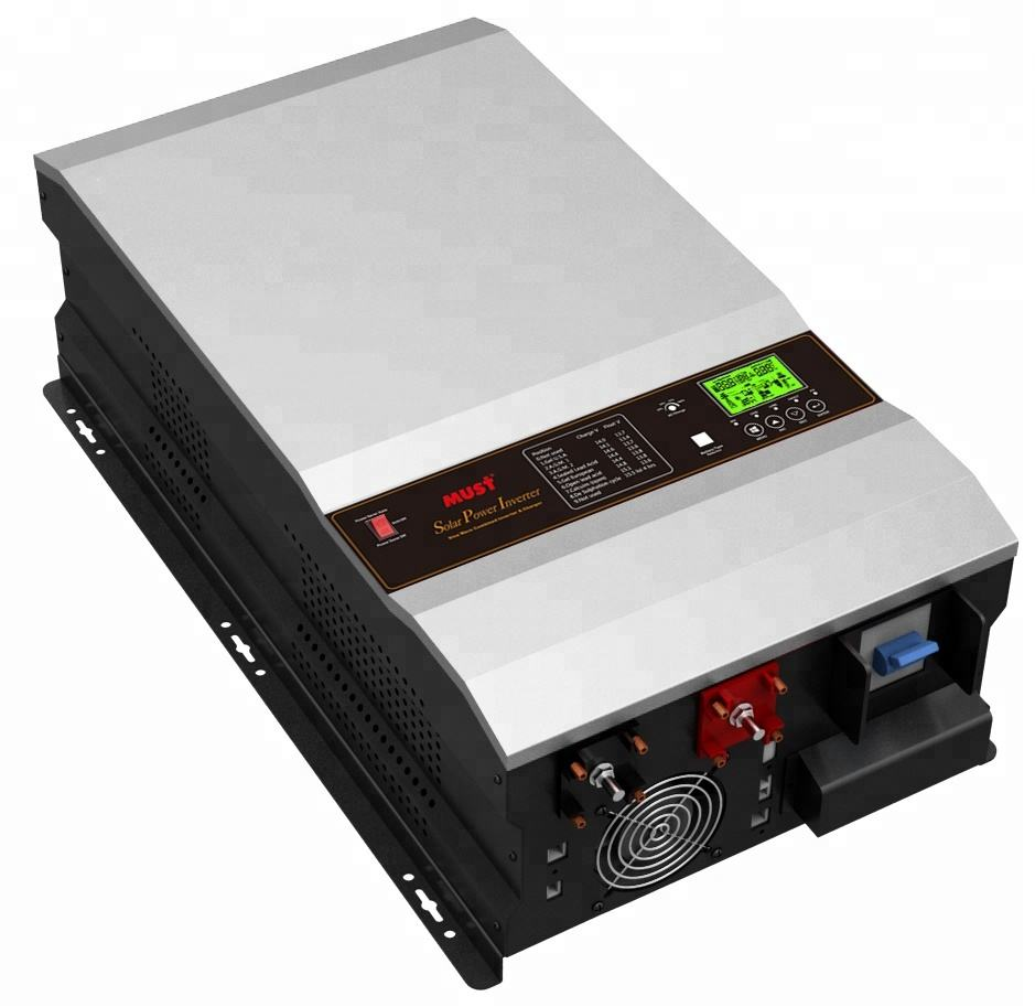 6KW 8KW 10KW 20KW 30KW MUST solar Inverter hybrid grid electric solar power system