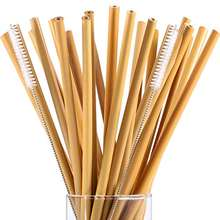 2020 eco friendly bamboo drinking straws plastic free bpa free alternative plastic healthy bio degradable reusable restaurant