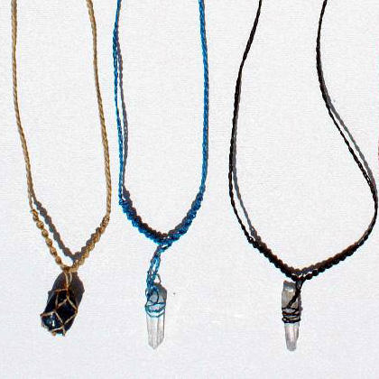 Necklaces with Cristal Stones Natural Unique Gemstone Necklaces Jewelry
