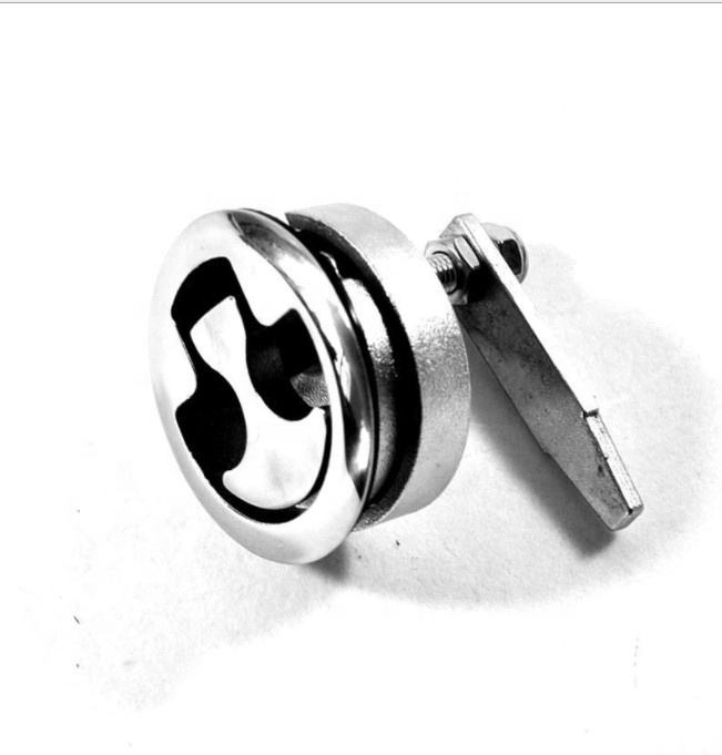 Isure Marine Supplies Locking Style Stainless Steel 316 Cam Hatch Boat Latch high polished marine boat hardwares