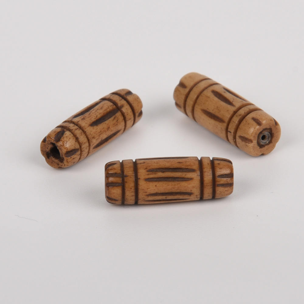 Assorted Shipwreck Beads India Bone//Horn Hair Pipe Bead Mix