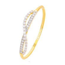 xuping jewelry Fashion accessory zircon gold plated bangle bracelet for women
