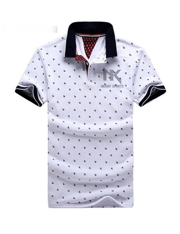 Männer Slim Fit POLO Shirts Sommer Solide Kurzarm Casual T-shirt Arbeit