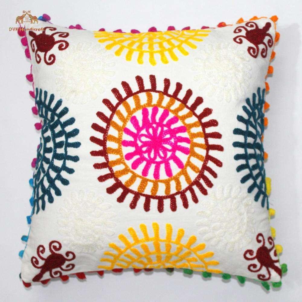 Housse de couette Mandala Double Literie Throw Indian Housse de couette en forme d/étoile psych/éd/élique et taie doreiller Bohemian Throw