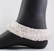Trendy Marvelous Bridal Silver Anklets