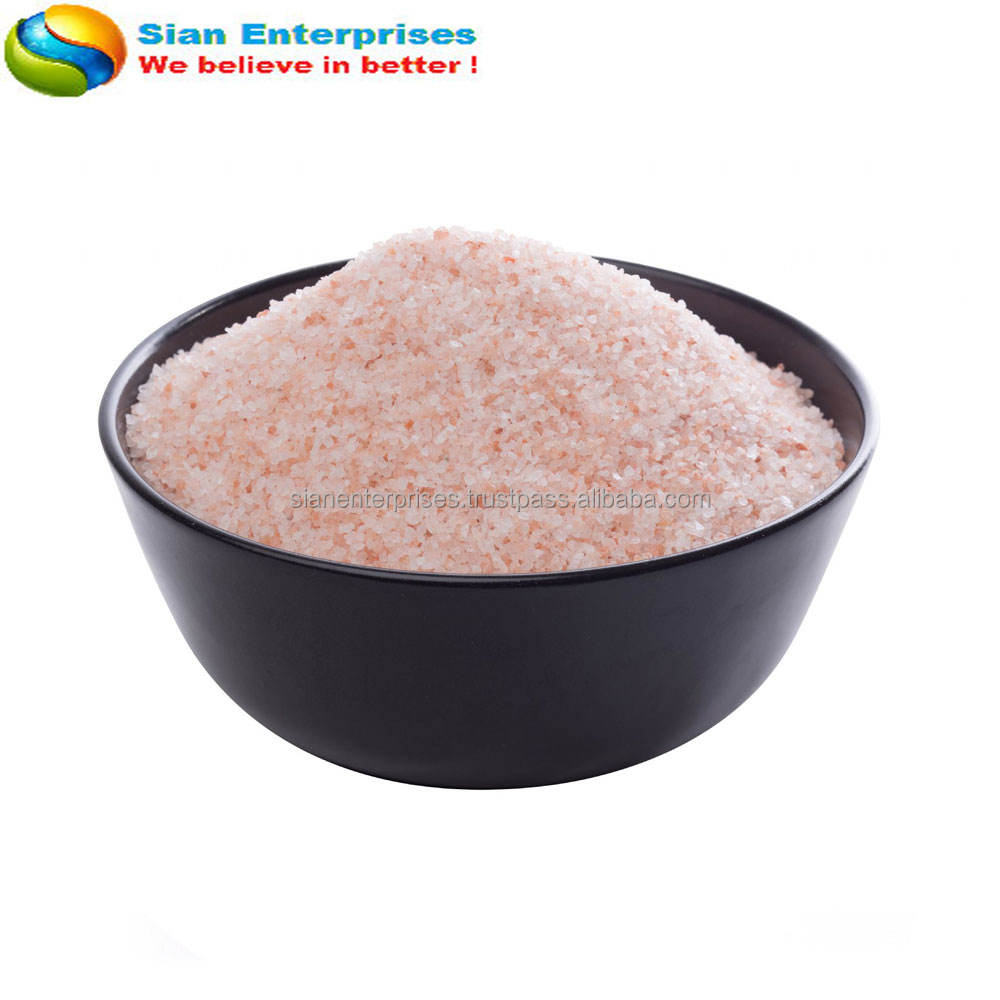 Pink 1-2mm Fine/Coarse Himalayan Salt (food grade)-Sian Enterprises