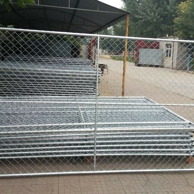 6x12 ft Construction Temporary Chain Link Fence Panels