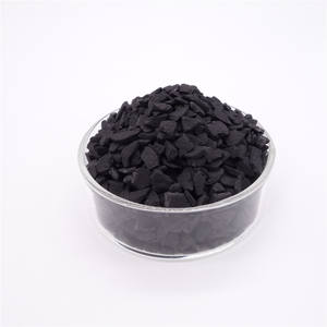 6 x 12 mesh granular coconut shell based steam activated carbon / charcoal