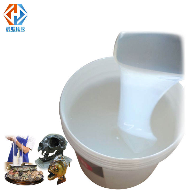 clear silicone for craft mold make rtv2 liquid silicon rubber for flexible silicon mould making China supplier