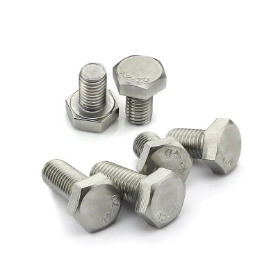 Din 933 DIN934 Stainless Steel Metric Thread Hex Bolts And Nuts in Hardware