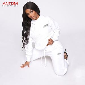 Active Wear Wholesale Sets Custom Tracksuits / Cheap Design Sports Full Zip Jacket Track Suits Made by Antom Enterprises
