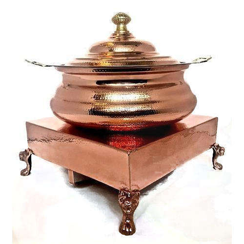 Stainless Steel Chefing Dish with Copper Coating