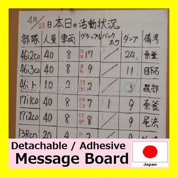 독특한 지울 메뉴 보드 시트 많은 위치 일본