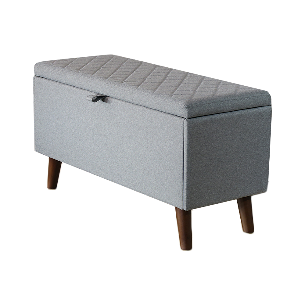 High Quality 2019 Scandi Ottoman Storage Box