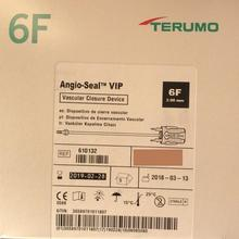 Angio-Seal  - Vascular closure device guidewire guide wire Terumo vascular closure device 610132