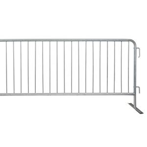 Hot-dipped Galvanized Pipe Crowd Control Retractable Barrier
