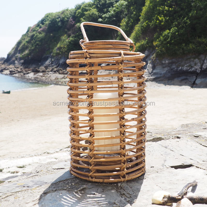 Wooden Decorative Indian handicrafts Outdoor Bamboo Lantern